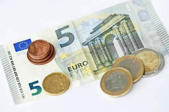 Der Mindestlohn wird 2019 um 35 Cent pro Stunde erhöht