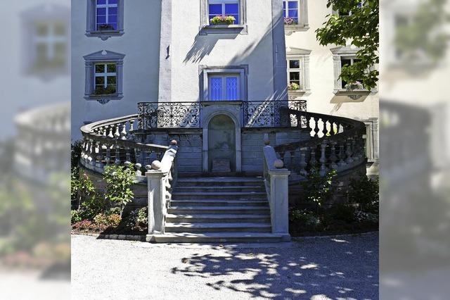 Schlosstreppe ein Fall für den Steinmetz