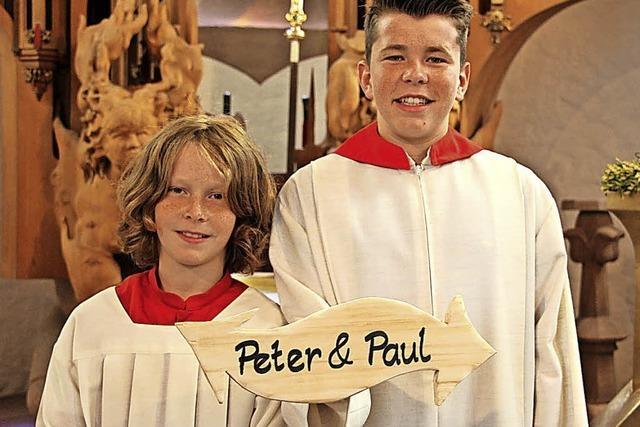 Gedenken an Petrus und Paulus