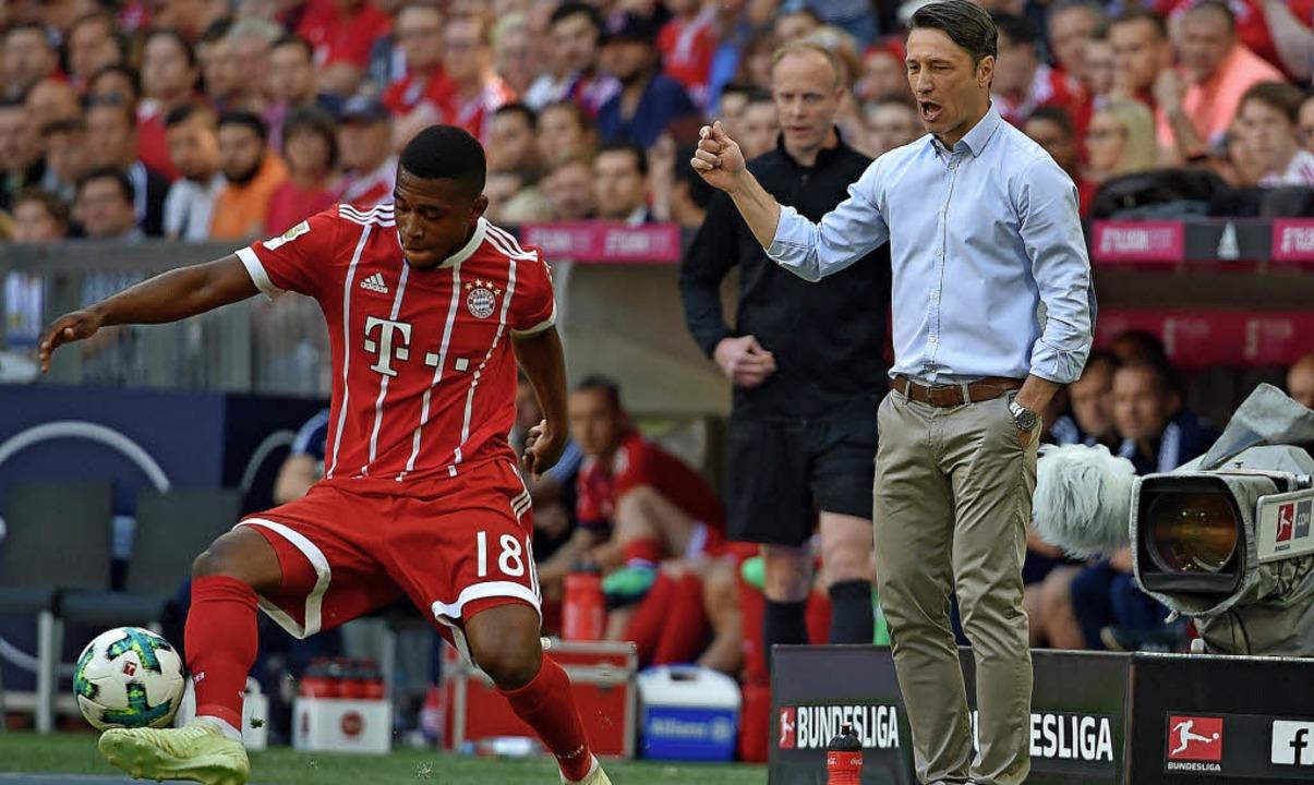 Franck Evina hatte bereits Einsätze mi... Profis des FC Bayern trainieren wird.  | Foto: Warmuth (dpa)