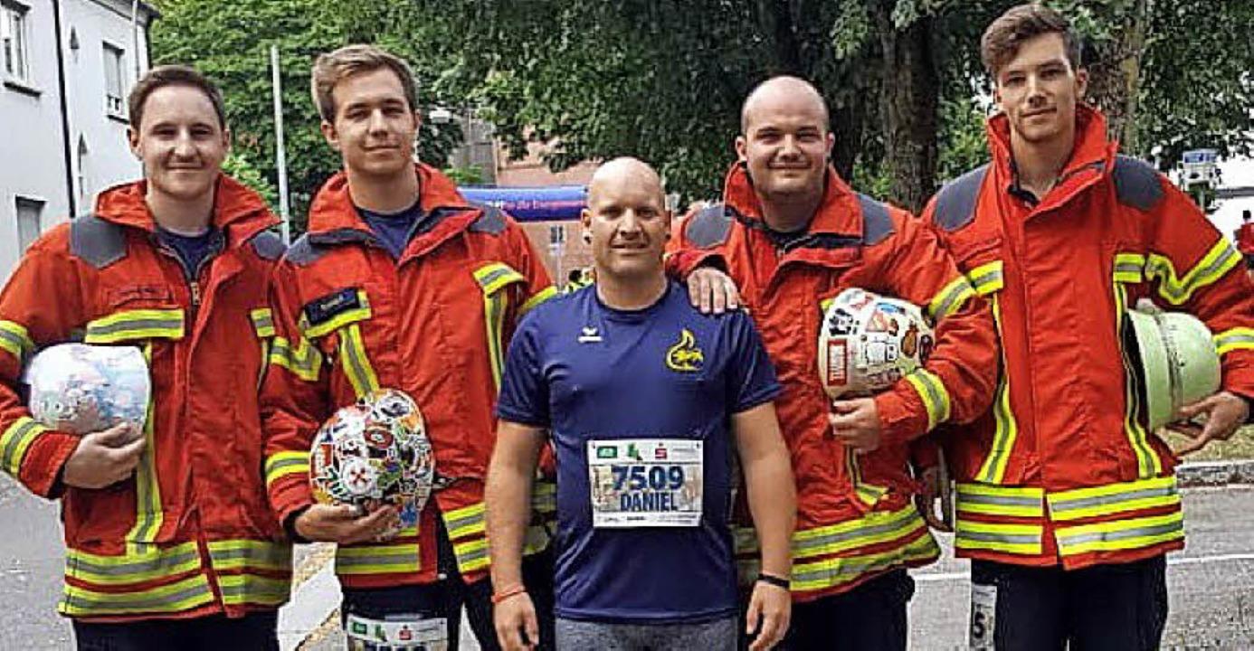 <BZ-FotoAnlauf>Feuerwehr Weil: </BZ-Fo...l Winzer und  Benny Gerber war aktiv.   | Foto: Kirn