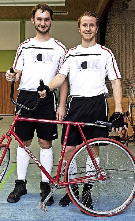 Simon Becherer und  Marco Häringer (rechts)   | Foto: PATRICK SEEGER