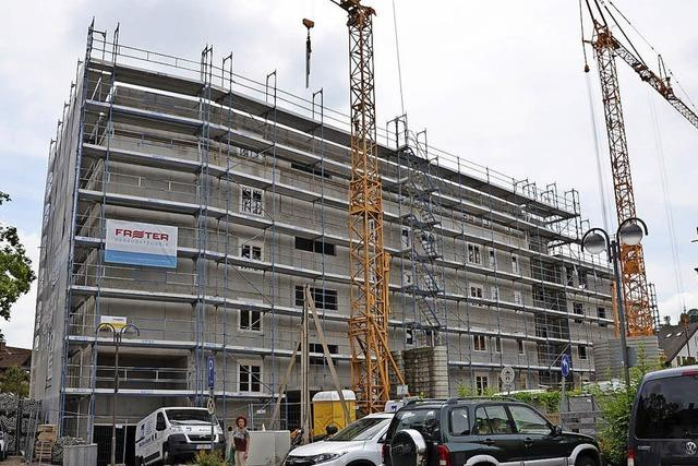 Neubau nimmt Form an