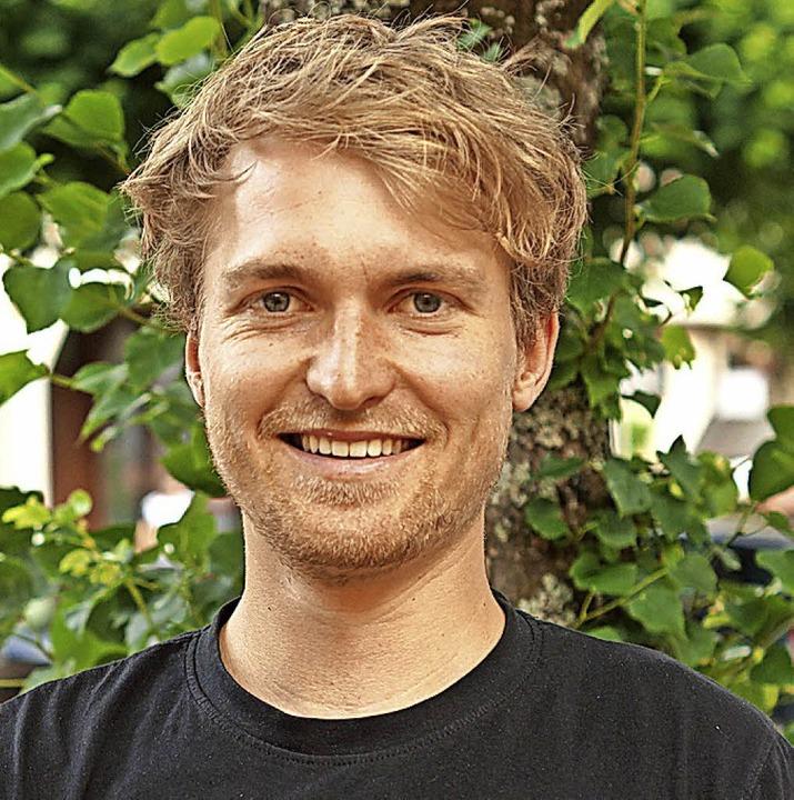 Niklas Eckert ist seit der Vereinsgründung vor fünf Jahren Vorsitzender.    Foto: Verena wehrle