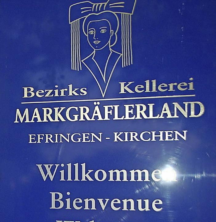 So wandelt sich das Logo der Bezirkske...euen Logo so zu sehen sein (rechts).      Foto: Langelott (2)/Bezirkskellerei Markgräflerland