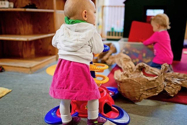 Die Gebühren in den Kindertagesstätten steigen um drei Prozent