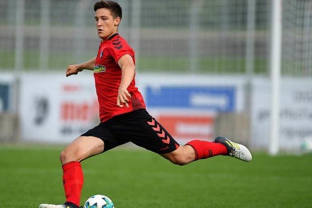 SC Freiburg holt vier Spieler aus der Fußballschule zu den Profis