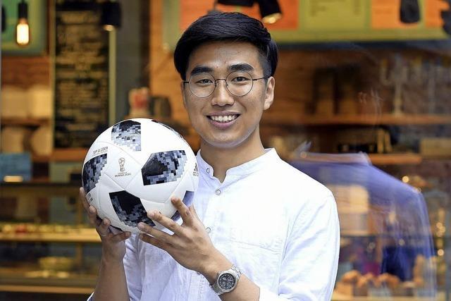 Chan Young Yoon drückt seinem Heimatland Südkorea die Daumen und kennt den großen Vorteil seines Teams
