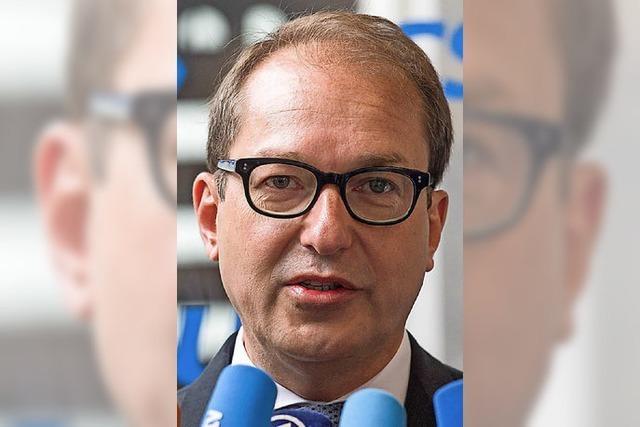 Alexander Dobrindt spitzt den Asylstreit zu