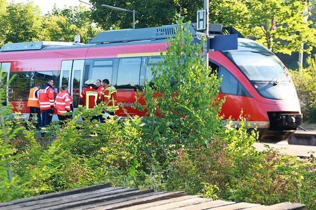 Bahnverkehr am Hochrhein lag für fast zwei Stunden lahm