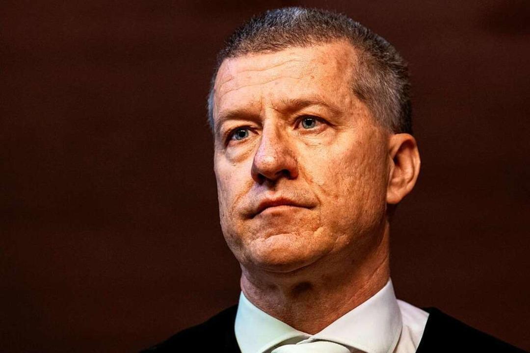 Stefan Bürgelin ist der Vorsitzende Ri...issbrauchsprozessen im Staufener Fall.  | Foto: dpa