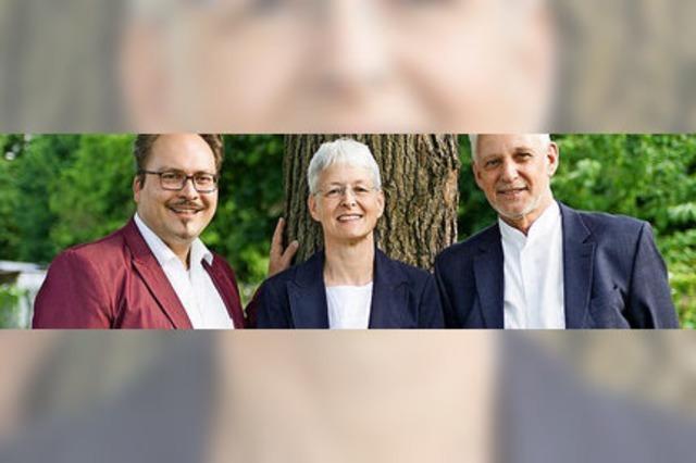 Zwei Violinen plus Orgel: Das Rheinberger-Trio konzertiert in Bötzingen