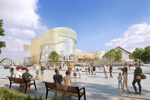 Cemagg informiert über das Baukonzept zur Dreiländergalerie