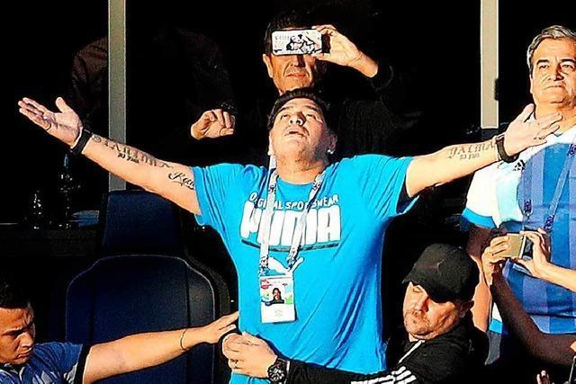 Wer Maradonas Gebaren anprangert, verkennt Diegos Seele