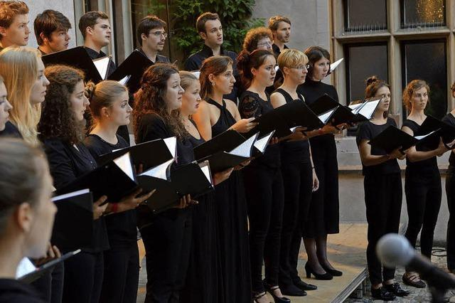 Bei der Chornacht werden 24 Chöre Freiburg zum Klingen bringen