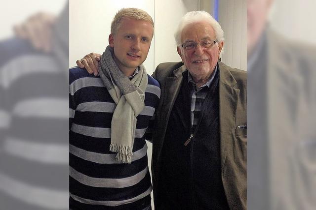 Zeitzeuge und KZ-Überlebender Shlomo Graber in Grenzach