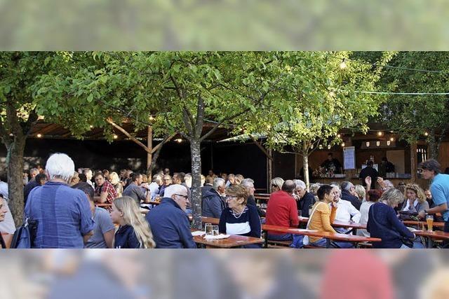 Zum viertägigen Gartenfest lädt die Musikkapelle von Waldkirch-Siensbach