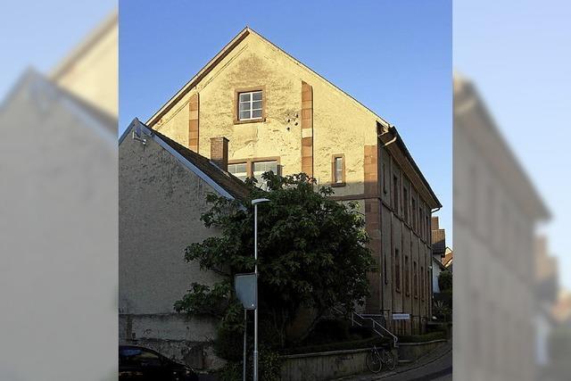 Zuschuss für die Altdorfer Synagoge