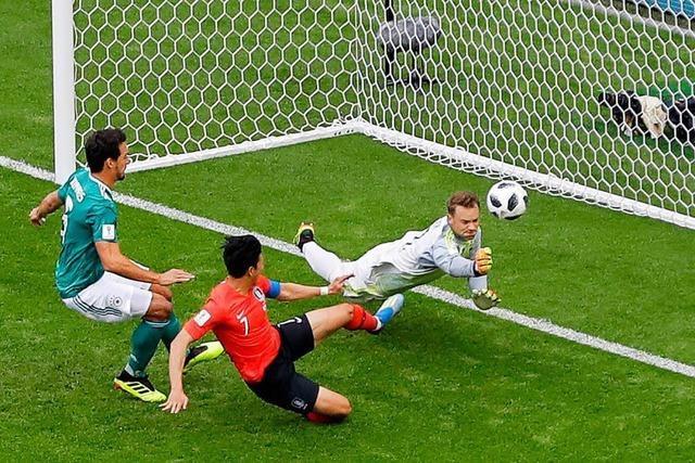 Deutschland scheitert erstmals in der Vorrunde einer Fußball-WM