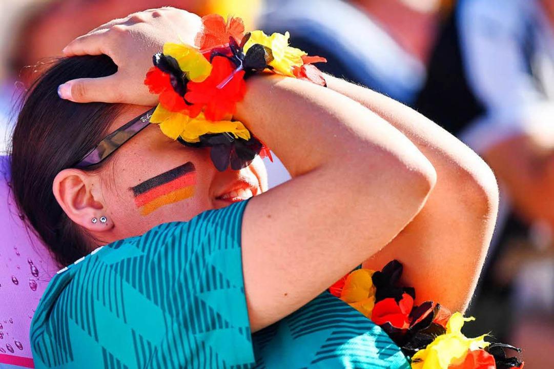 Teilweise tat es weh, der Nationalmannschaft beim Spielen zuzusehen  | Foto: dpa
