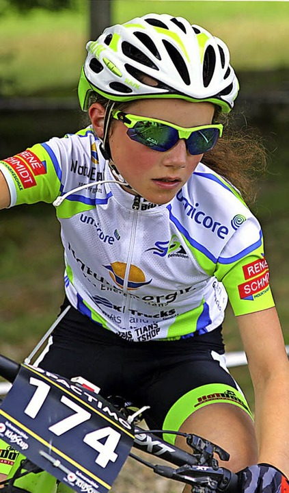 Dreimal unter den besten Fünf: Soraya Böhler von der SG Rheinfelden    Foto: Luis Walbröhl