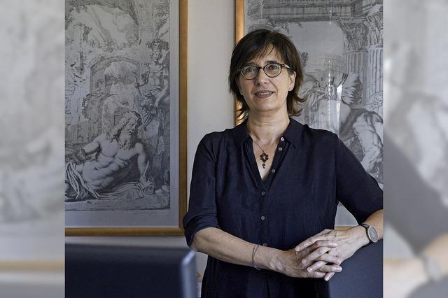 Anna Schreurs-Morét spricht bei der Samstags-Uni über die Göttin Pittura
