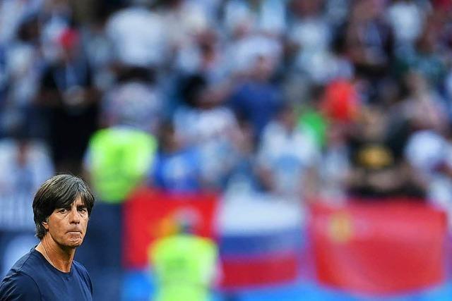 Bundestrainer Löw schließt Rücktritt nach WM-Aus nicht aus