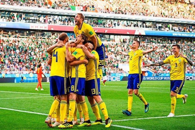 Schweden mit Moral ins Achtelfinale - Mexiko jubelt über DFB-Patzer