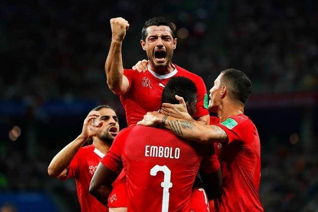Schweiz verspielt Sieg gegen Costa Rica - Achtelfinale gegen Schweden