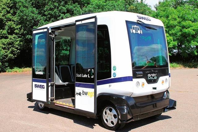 In Lahr fährt Baden-Württembergs erster Bus ohne Fahrer