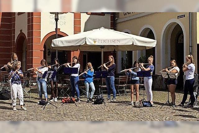Ensembles der Kooperation Musikschule Nördlicher Breisgau und Goethe-Gymnasium in Emmendingen