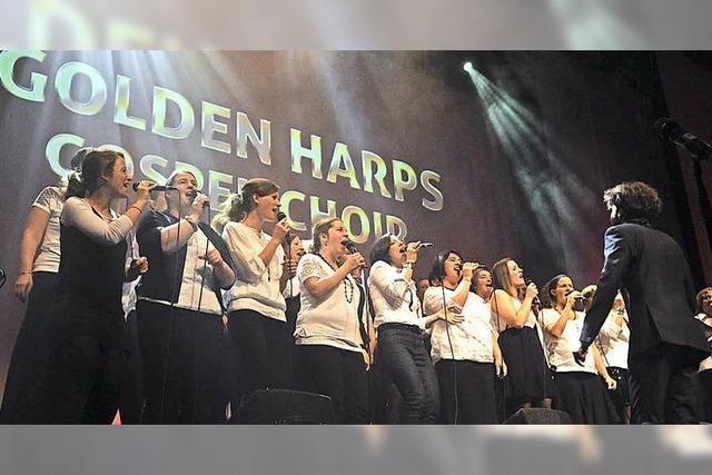 Come and feel the Gospel mit den Golden Harps auf der Landesgartenschau