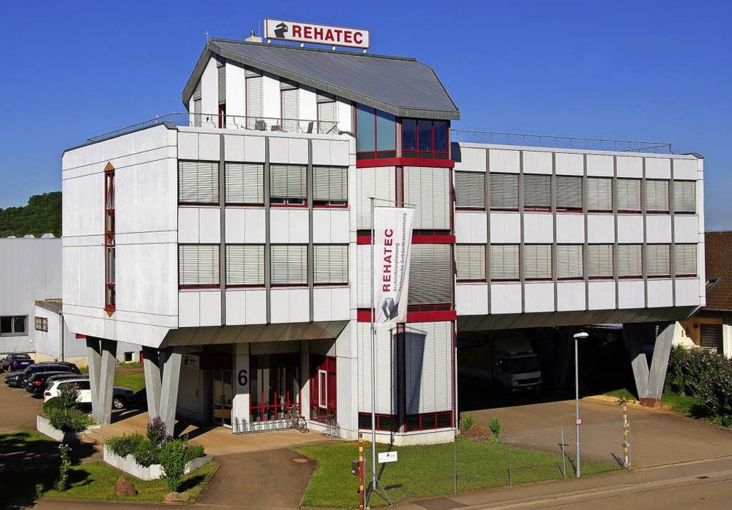 Der Firmensitz der Rehatec Planungsges...end zum 1. Januar wieder eigenständig.  | Foto: Rehatec