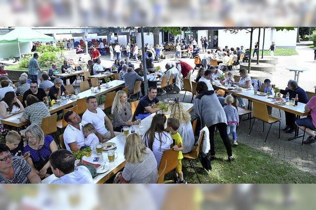Gemeindefest in Langenwinkel