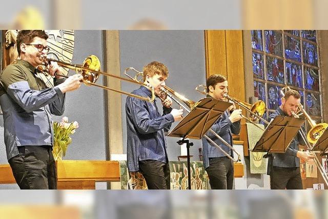 Trompetenquartett Four Bones in Hinterzarten