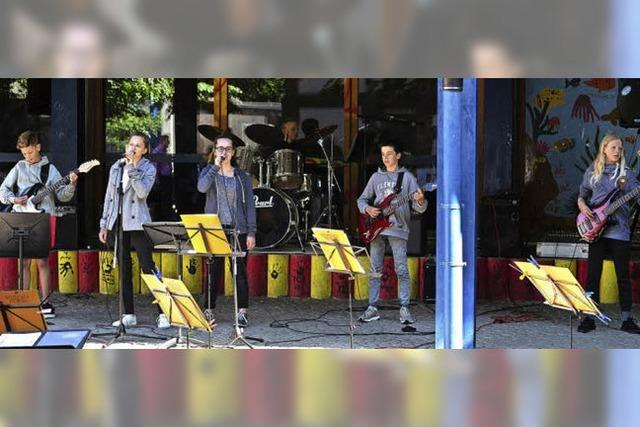 Musikschulfest in der Turnseeschule