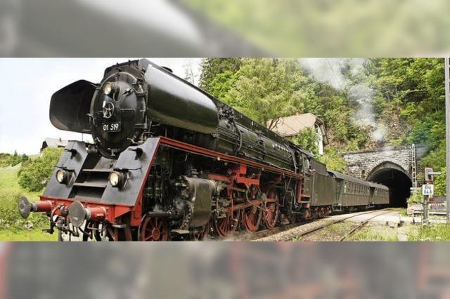 37 Tunnel unter Dampf auf der Schwarzwaldbahn