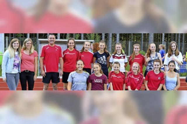 Fußballspaß für Mädchen