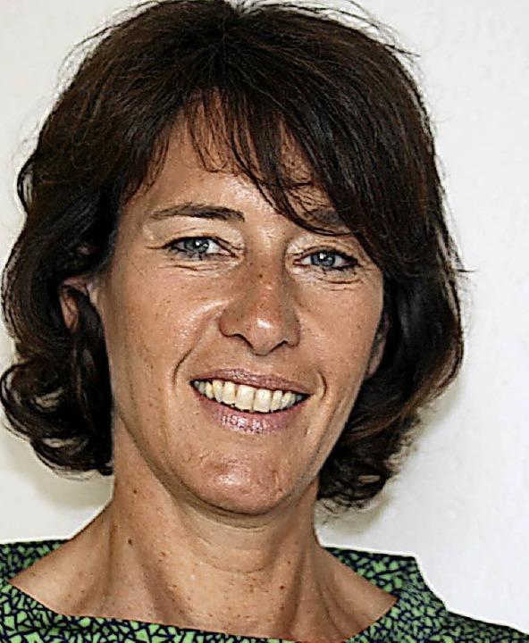Claudia Menzer aus Wittlingen gründet ein Sozialprojekt für Kinder. Foto: Bode    Foto: Ines Bode
