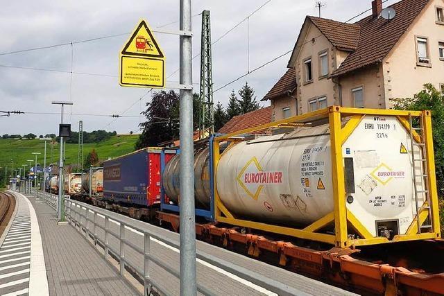 Gefahrguttransport in Efringen-Kirchen gestrandet – fast vier Tage lang