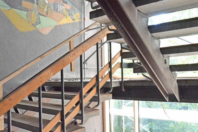 Die Treppe kostet jetzt auch
