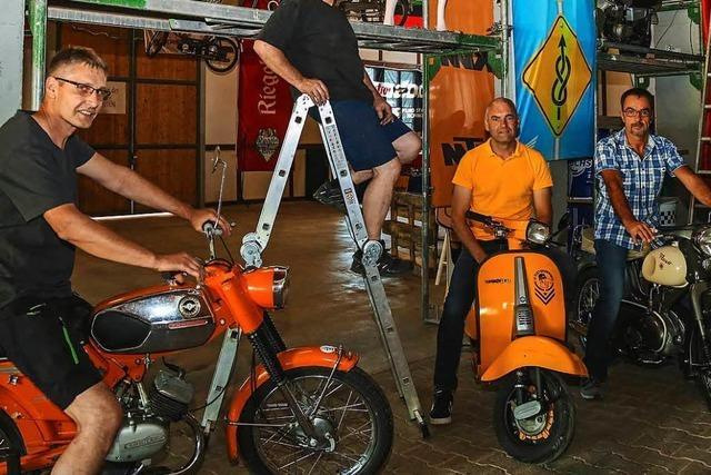 Am Wochenende rollt der erste Moped-Marathon durch den Schwarzwald