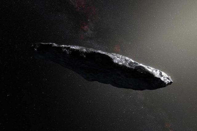 Weltraumkeule ist wohl ein Komet