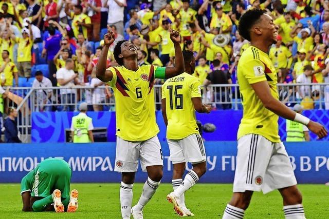 Minas Kopfball erlöst Kolumbien