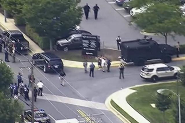 Schüsse in einer Zeitungsredaktion in den USA - fünf Tote