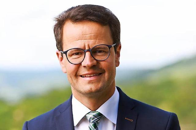 Marco Steffens ist erster Kandidat für die OB-Wahl in Offenburg