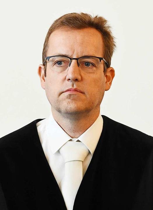 Peter Stier, Vorsitzender Richter beim Landgericht Karlsruhe  | Foto: dpa