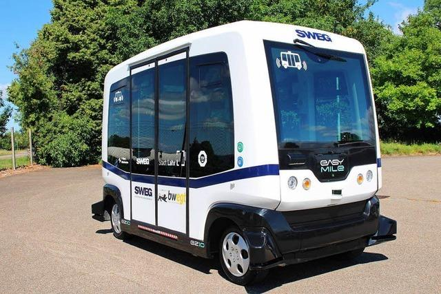 10 Fakten: So funktioniert der autonom fahrende Bus in Lahr