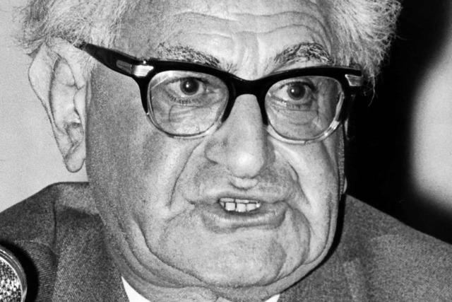 Fritz Bauer – Kämpfer für Recht und Menschenwürde