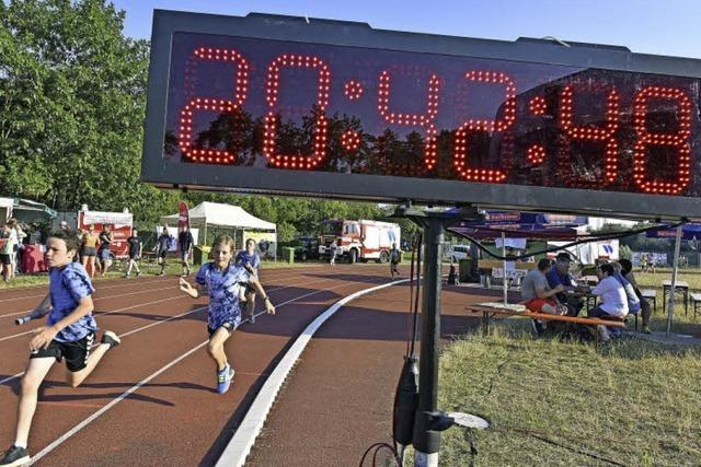 Beim 24-Stunden-Lauf im Seepark liefen die Teilnehmer fast 25 000 Runden